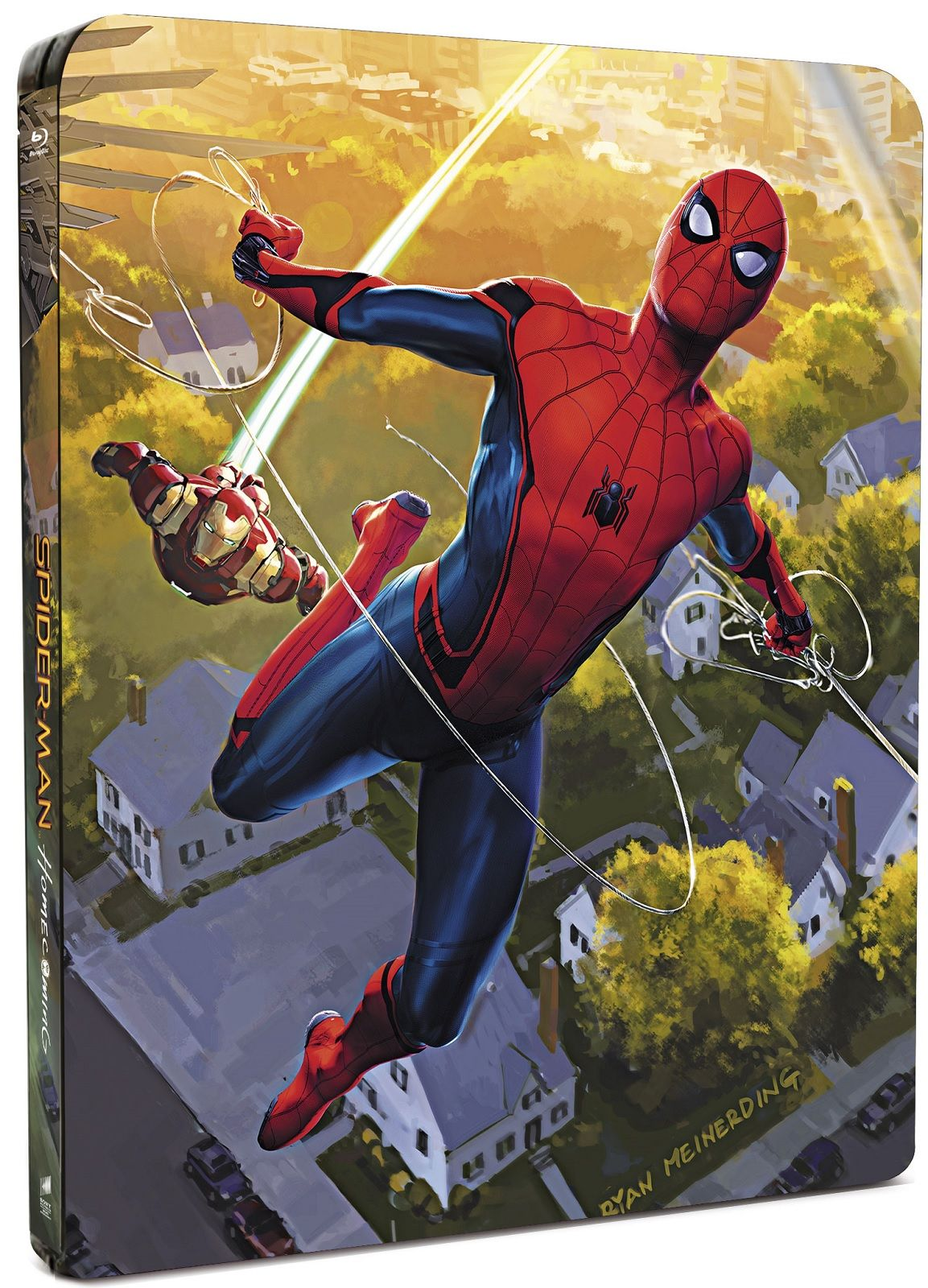 Спайдър-мен: Завръщане у дома Steelbook Edition 3D+2D (Blu-Ray) - 2