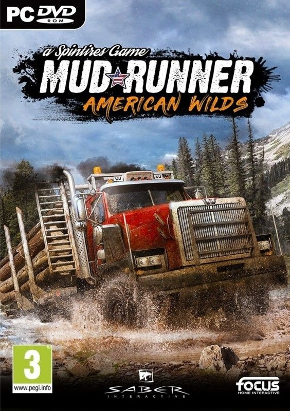 Spintires Mudrunner - American wilds Edition (PC) - 1
