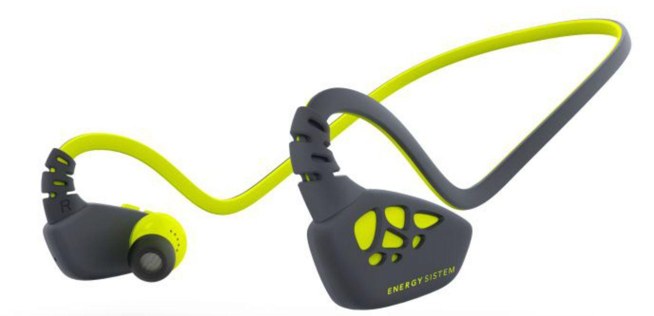 Спортни слушалки Energy Sistem - Sport 3, жълти - 2