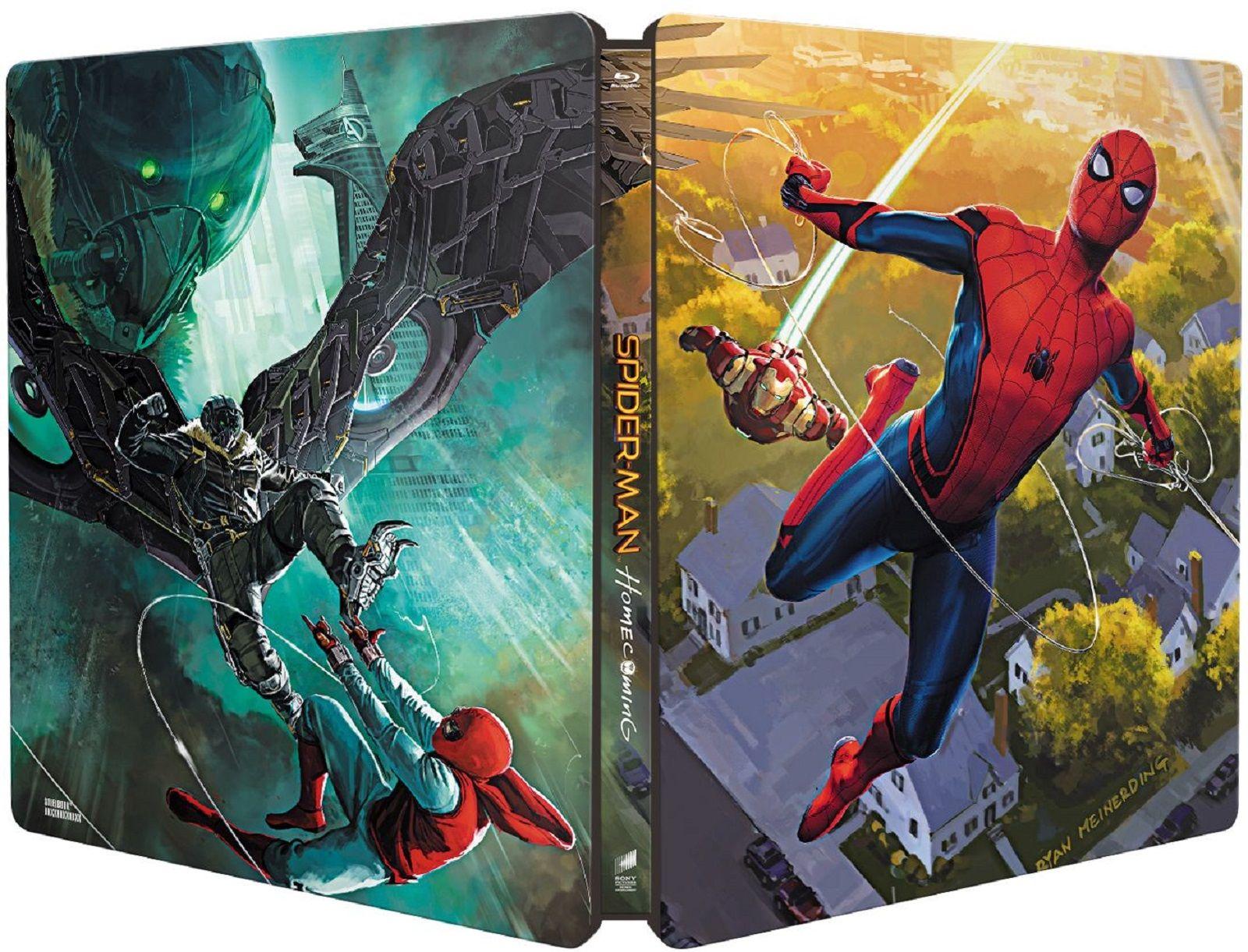 Спайдър-мен: Завръщане у дома Steelbook Edition 3D+2D (Blu-Ray) - 3