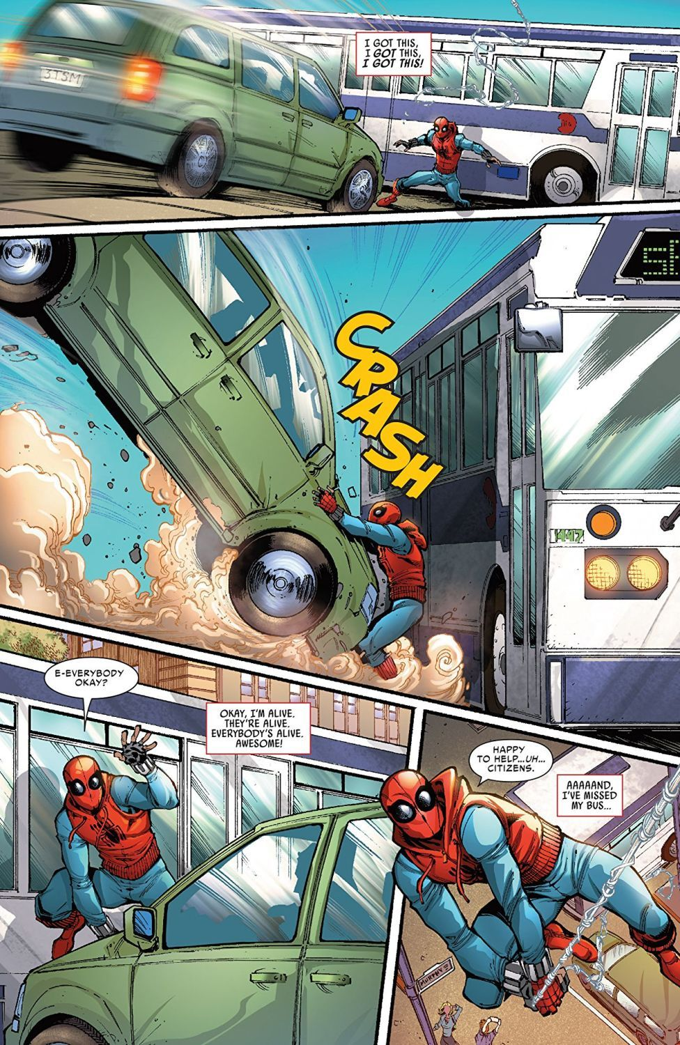 Spider-Man Homecoming Prelude - 3