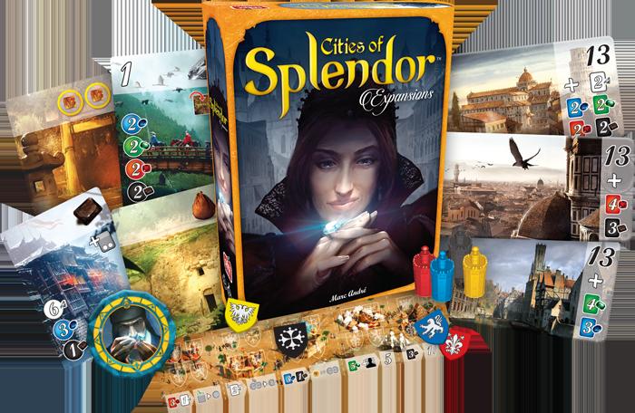 Разширение за настолниа игра Splendor: Cities of Splendor - 2