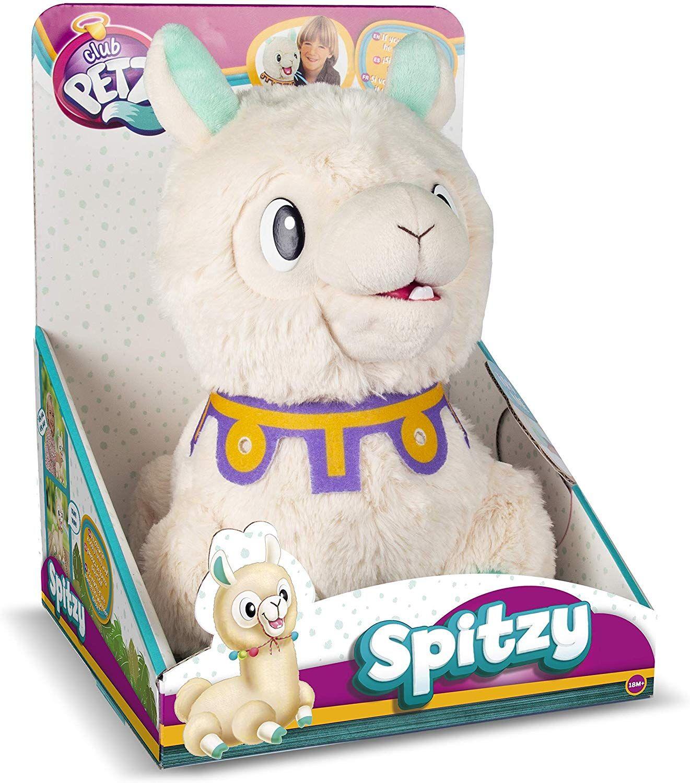 Интерактивна плюшена играчка IMC Toys - Плюеща лама Spitzy - 2