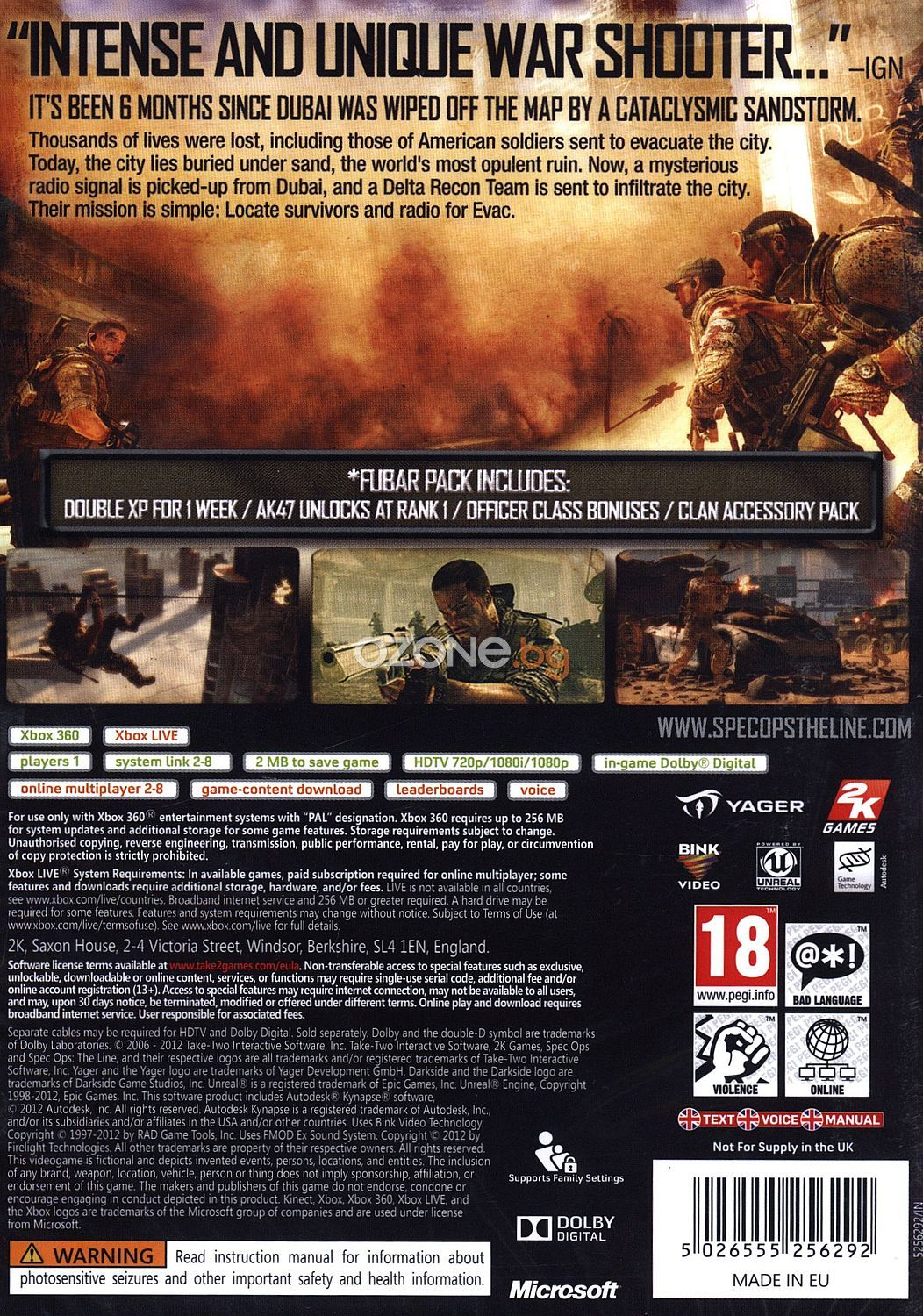Spec Ops: The Line FUBAR Edition (Xbox 360) - 3