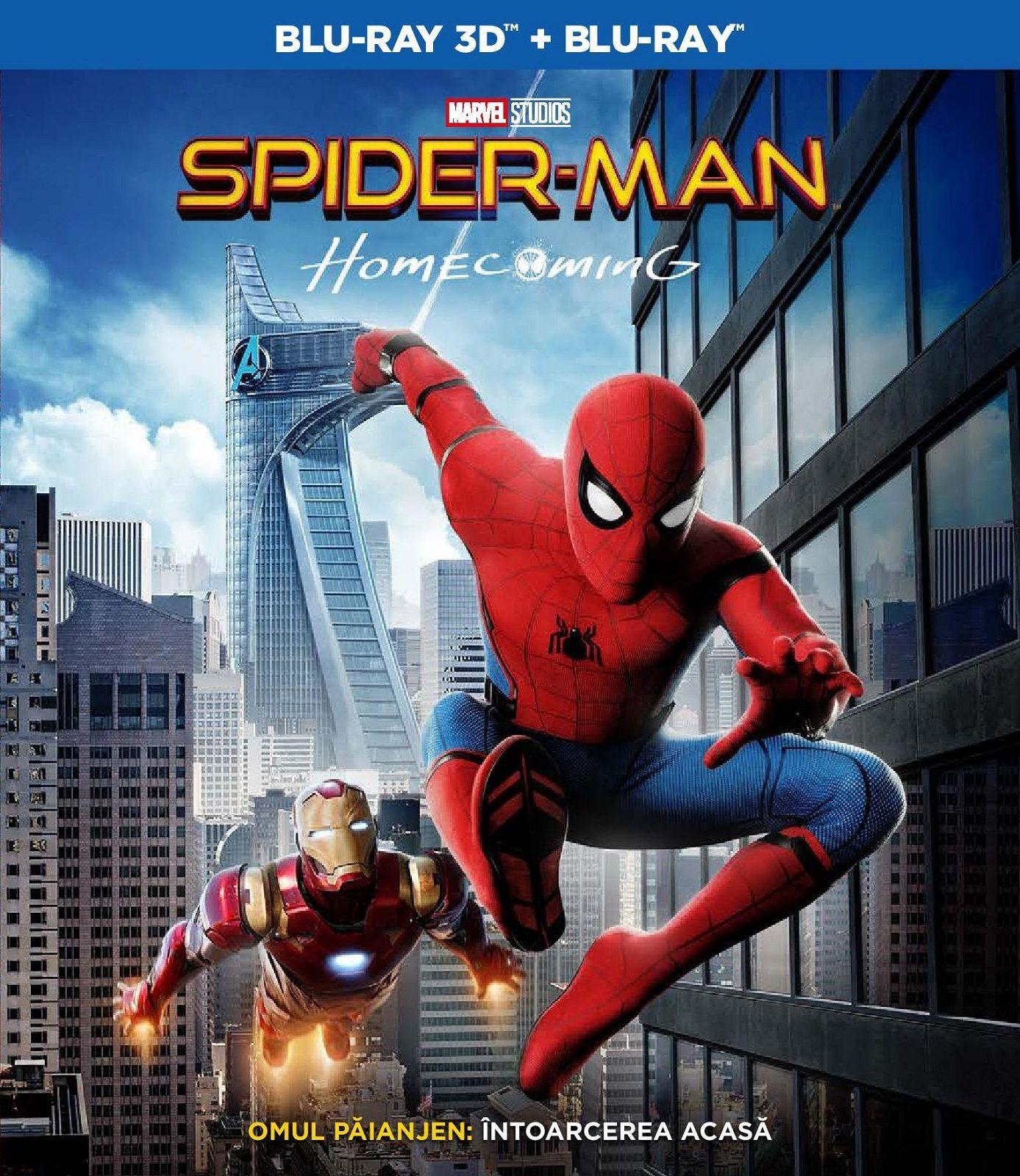 Спайдър-мен: Завръщане у дома 3D+2D (Blu-Ray) - 1
