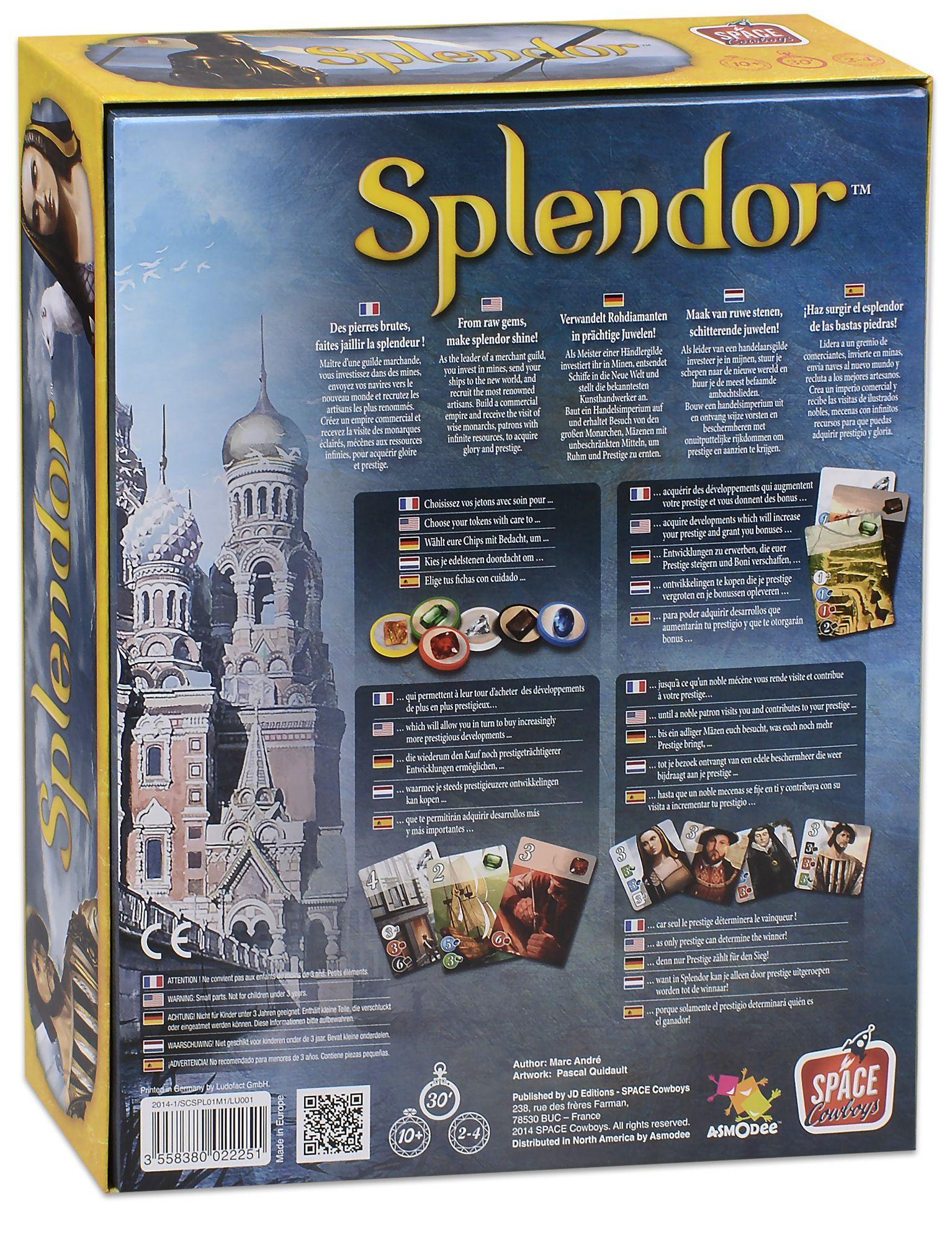 Настолна игра Splendor - 2
