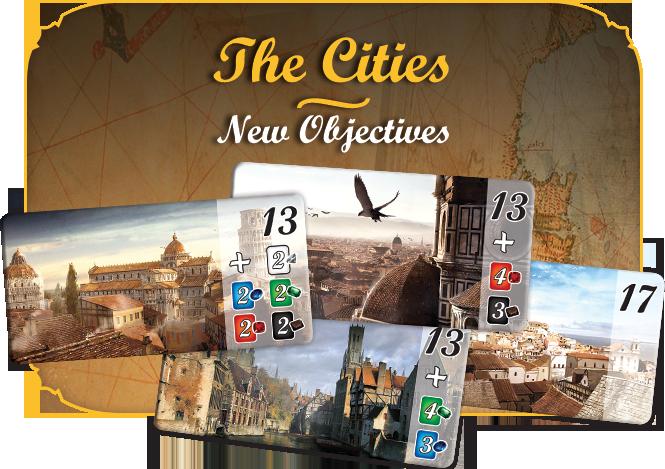 Разширение за настолниа игра Splendor: Cities of Splendor - 3
