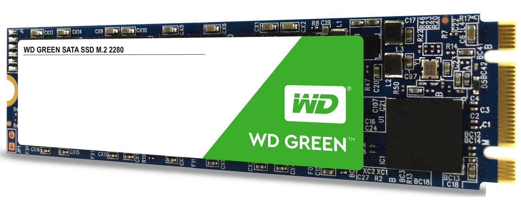 SSD WD Green (M.2, 240GB, SATA III 6 Gb/s) - 1
