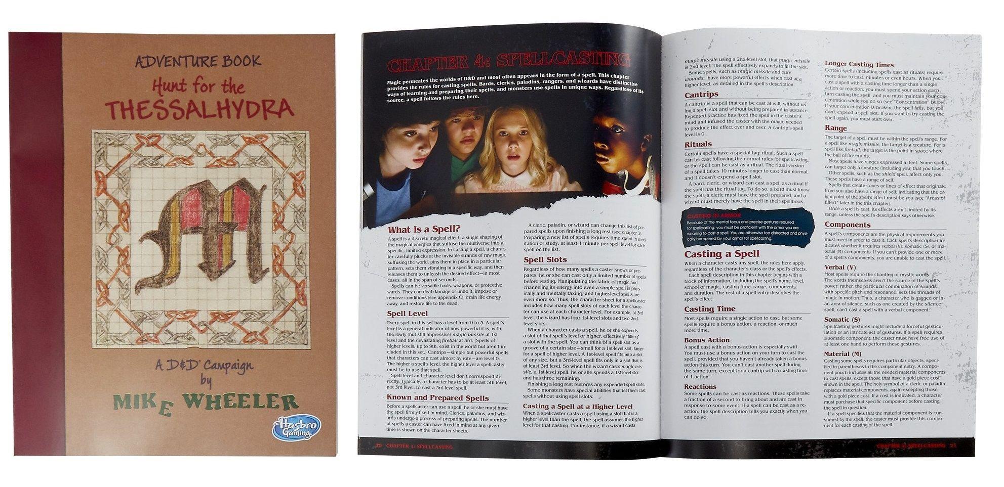 Ролева игра Stranger Things Dungeons & Dragons Starter Set - 10