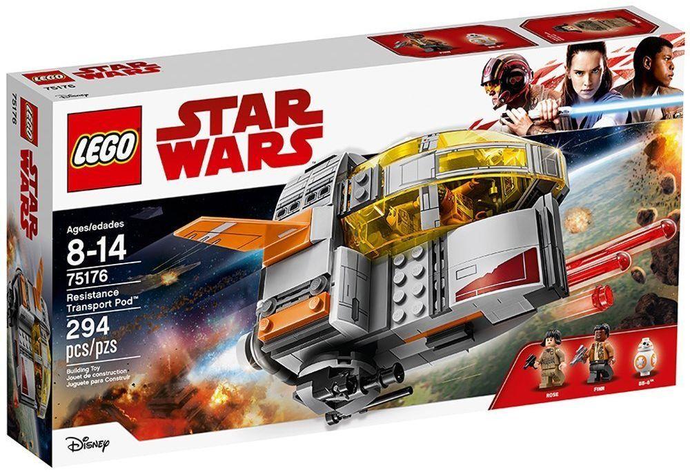 Конструктор Lego Star Wars - Транспортна Капсула на Съпротивата (75176) - 1