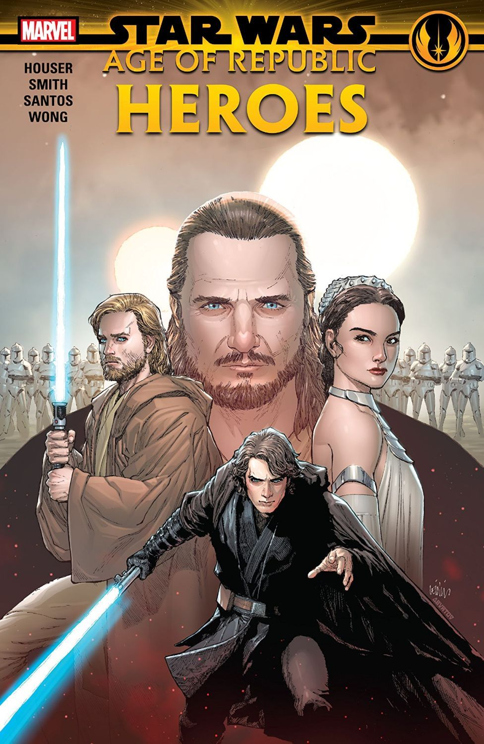 Star Wars Age of the Republic. Heroes - 1