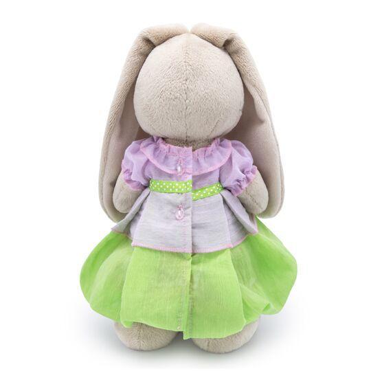 Плюшена играчка Budi Basa - Зайка Ми, с пролетна рокличка, 25 cm - 4
