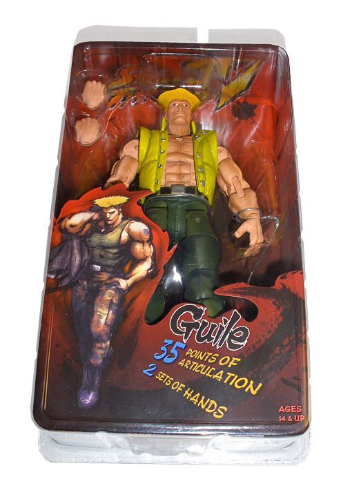 Street Fighter Action Figure Guile in Charlie Costume SDCC Exclusive 18 cm - 2
