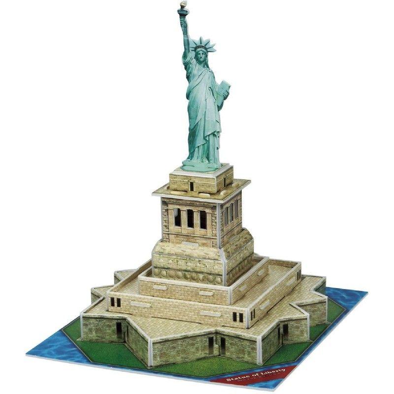 Мини 3D пъзел Revell - Статуята на свободата - 1