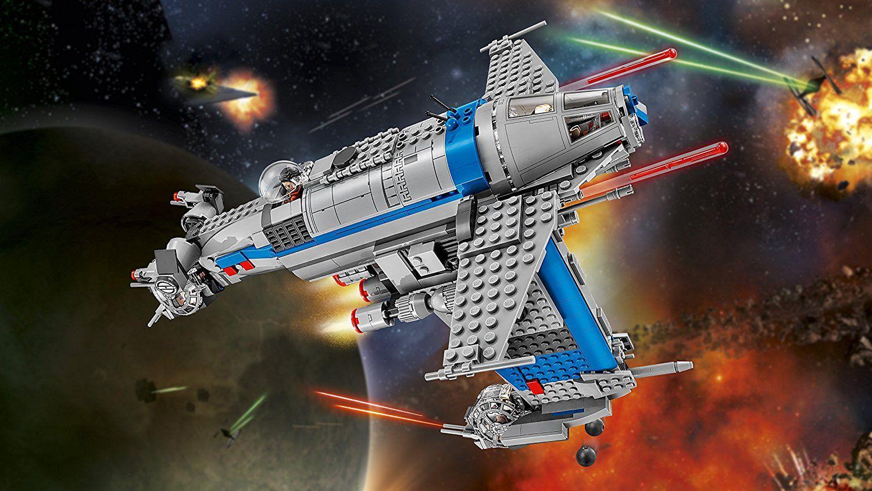 Конструктор Lego, Star Wars - Бомбардировач на Съпротивата (75188) - 12