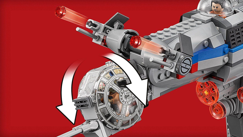 Конструктор Lego, Star Wars - Бомбардировач на Съпротивата (75188) - 2