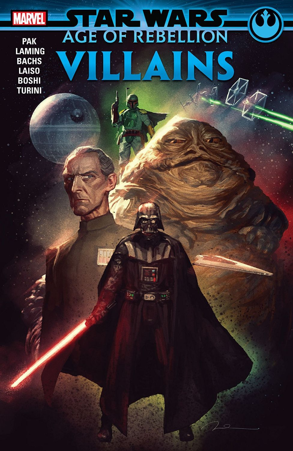 Star Wars Age of the Rebellion. Villains - 1