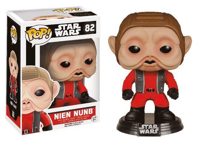 Фигура Funko Pop! Star Wars: Star Wars Episode VII - Nien Nunb, #82 - 2