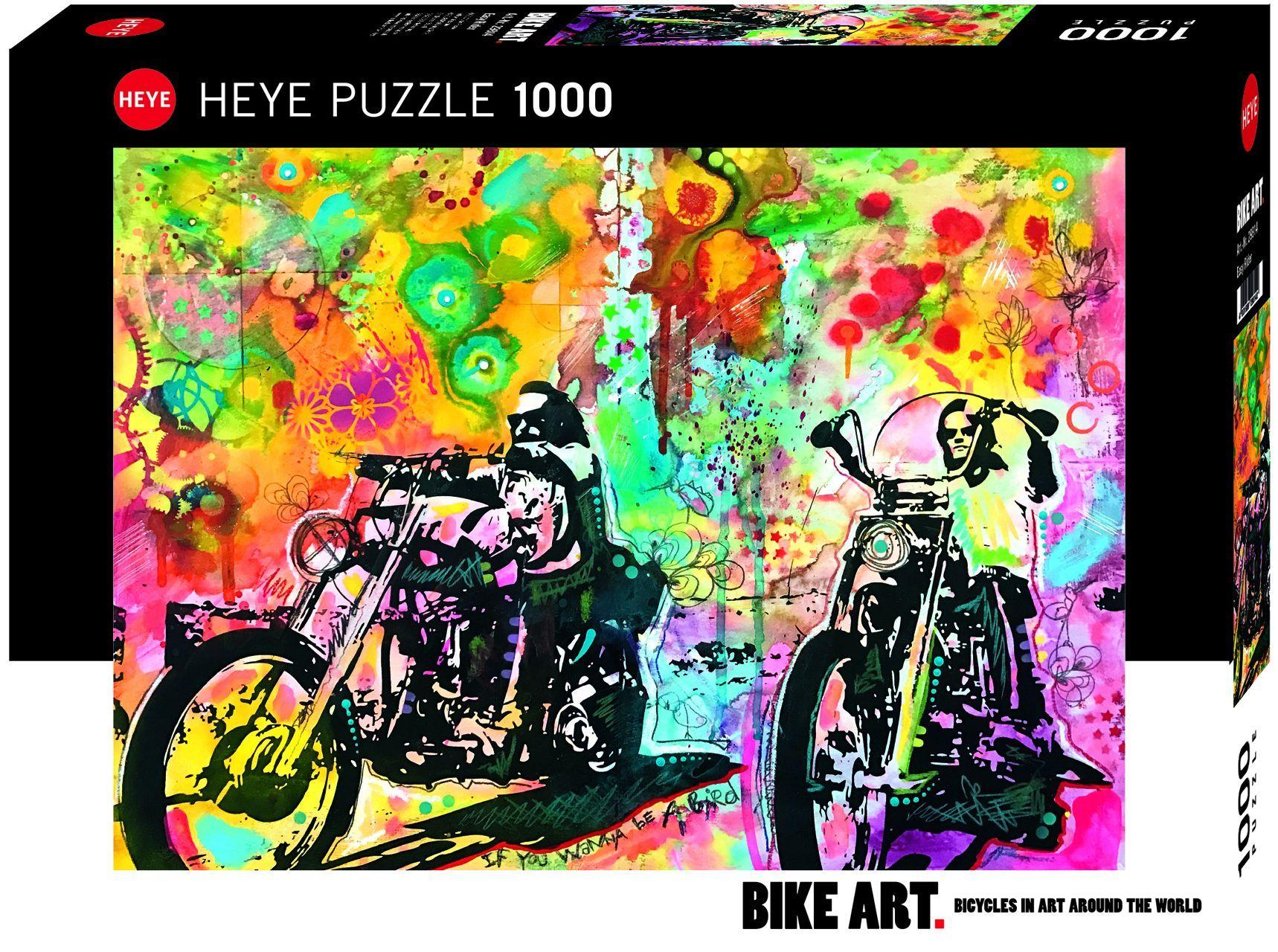 Пъзел Heye от 1000 части - Мотористът - 1