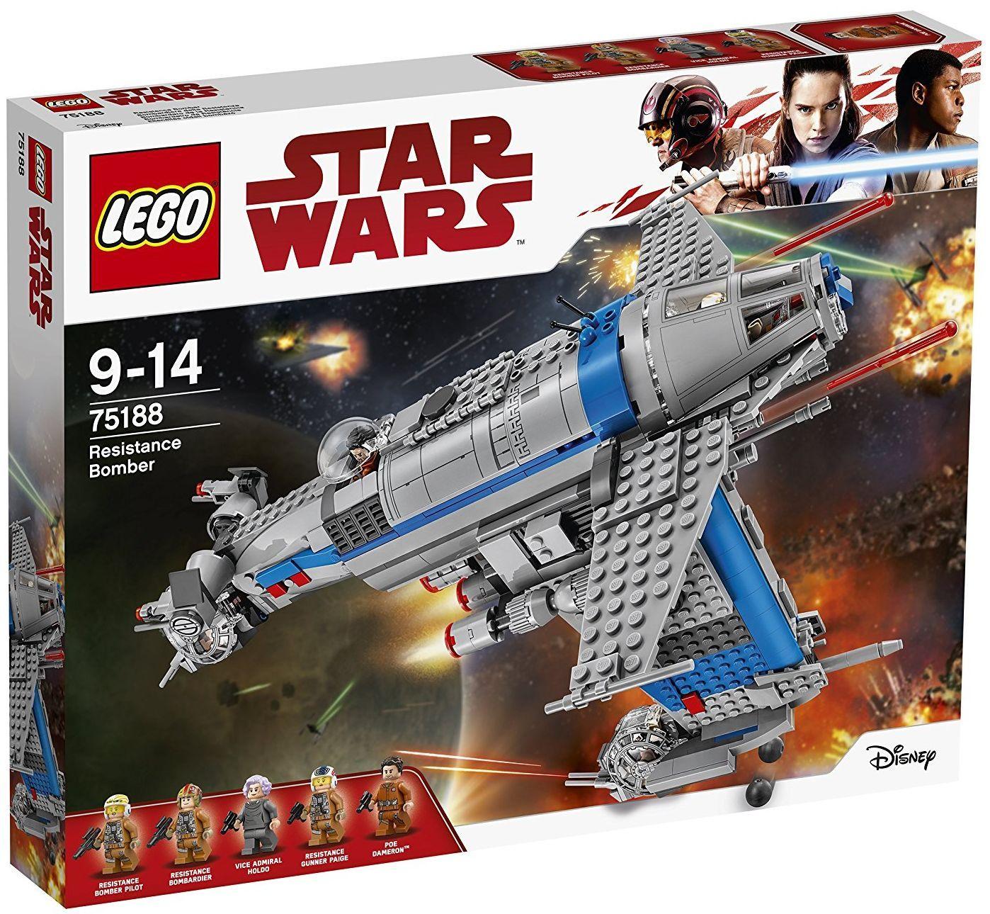 Конструктор Lego, Star Wars - Бомбардировач на Съпротивата (75188) - 1