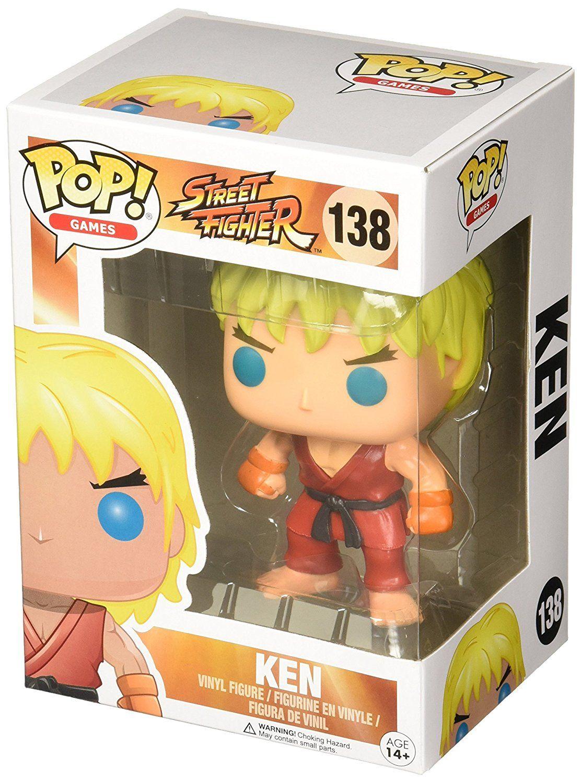 Фигура Funko Pop! Games: Street Fighter - Ken, #138 - 2