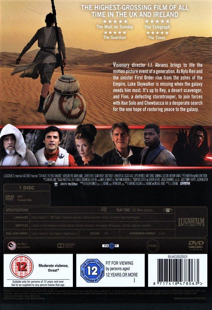 Star Wars: Episode VII - The Force Awakens (DVD) - 2