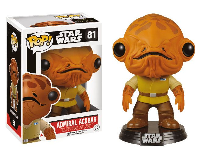 Фигура Funko Pop! Star Wars: Star Wars Episode VII - Admiral Ackbar, #81 - 2