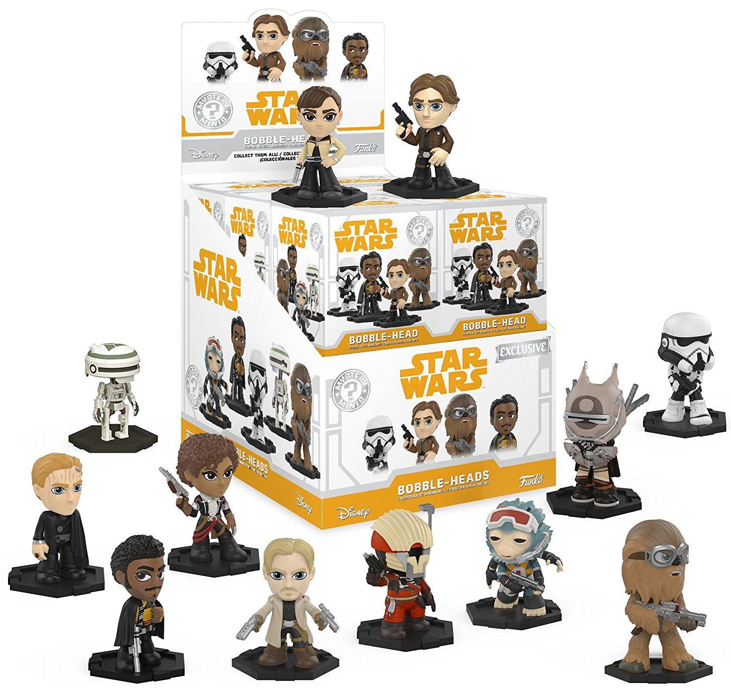Мини фигура Funko: Star Wars: Solo Series 1 - Mystery Mini Blind Box - 1
