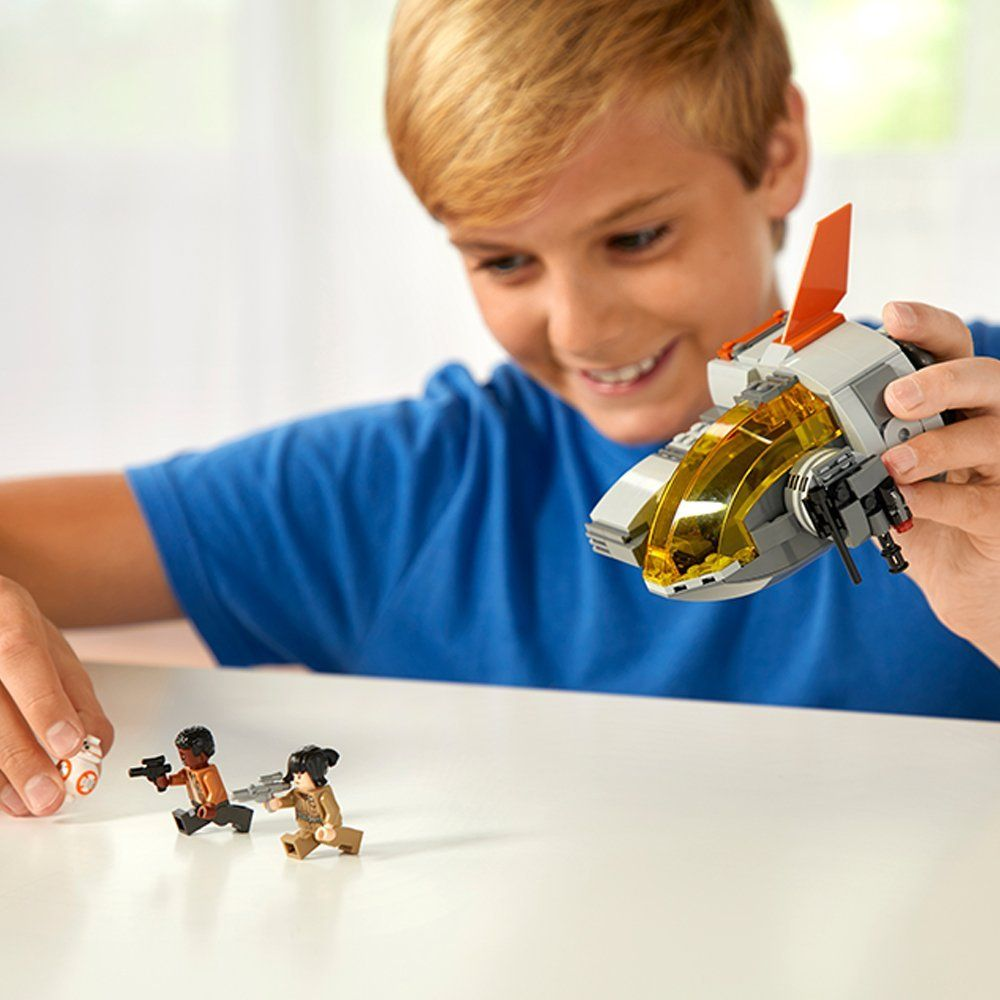 Конструктор Lego Star Wars - Транспортна Капсула на Съпротивата (75176) - 3