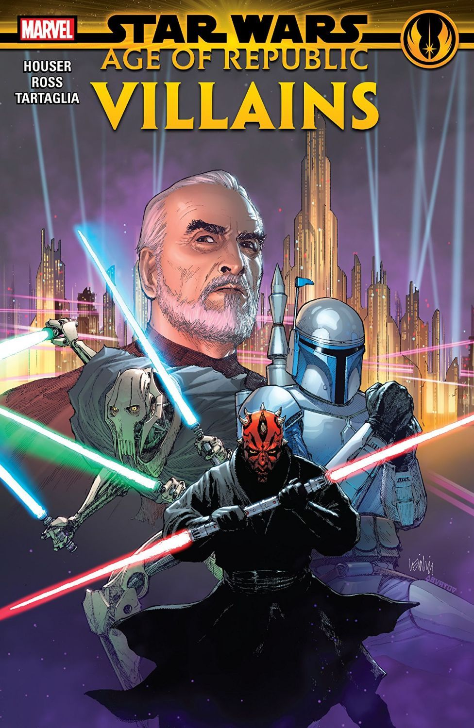 Star Wars Age of the Republic. Villains - 1