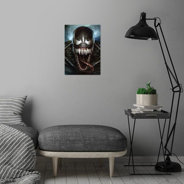 Метален постер Displate - Venom: Superhero - 4