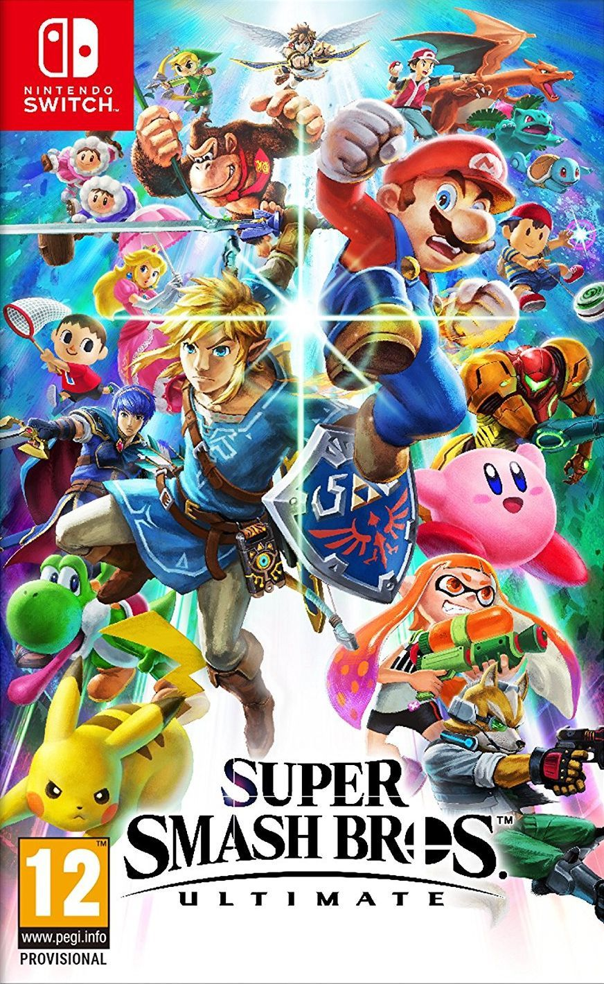 Super Smash Bros. Ultimate (Nintendo Switch) - 1