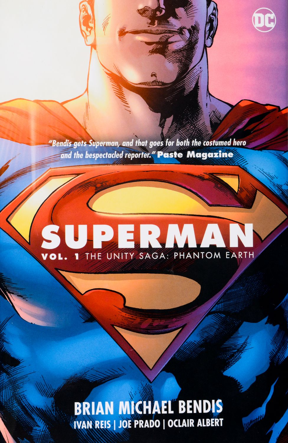 Superman, Vol. 1: The Unity Saga: Phantom Earth - 1
