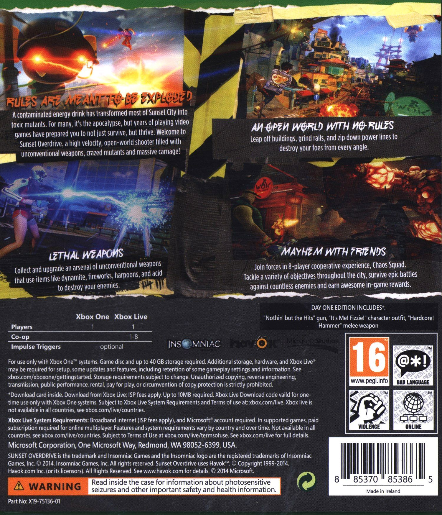Sunset Overdrive (Xbox One) - 5
