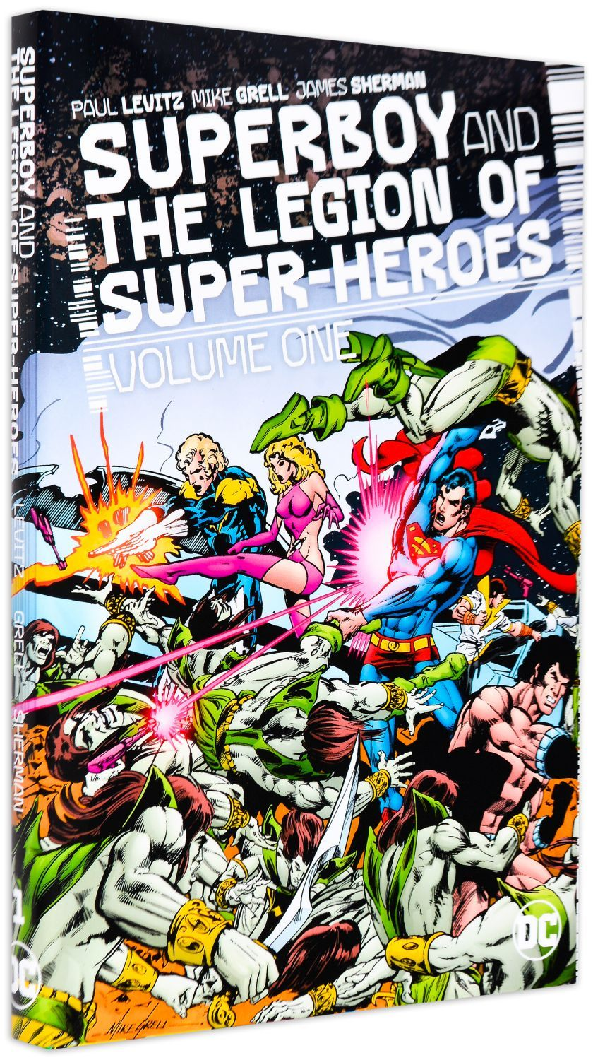 Superboy and the Legion of Super-Heroes Vol. 1 - 1