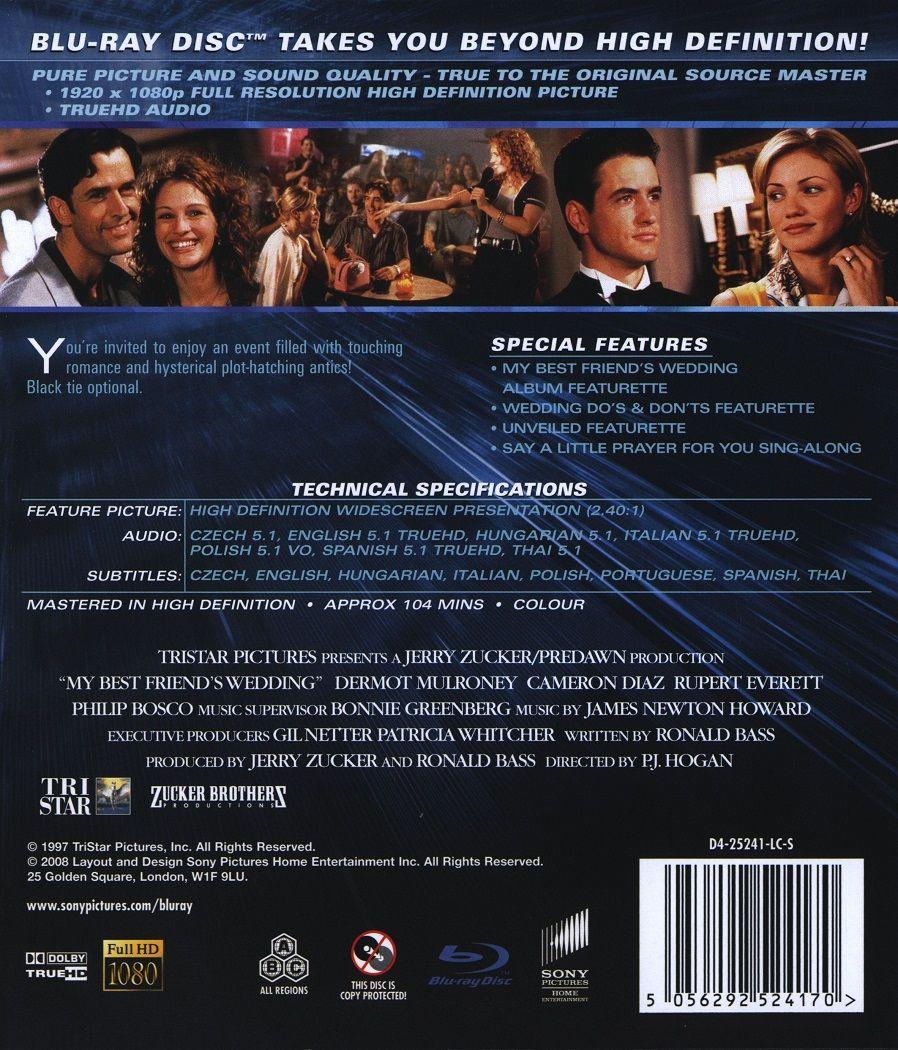 My Best Friend's Wedding (Blu-Ray) - 2