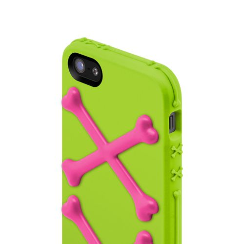 SwitchEasy Bones Toxic Lime за iPhone 5 - 4