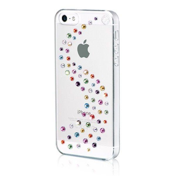 Swarovski Milky Way Cotton Candy за iPhone 5 -  кейс с кристали на Сваровски за iPhone 5 - 2