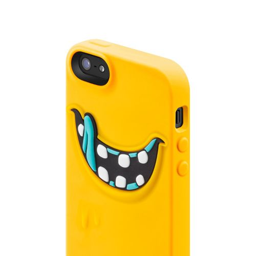 SwitchEasy Monsters Freaky за iPhone 5 -  жълт - 4