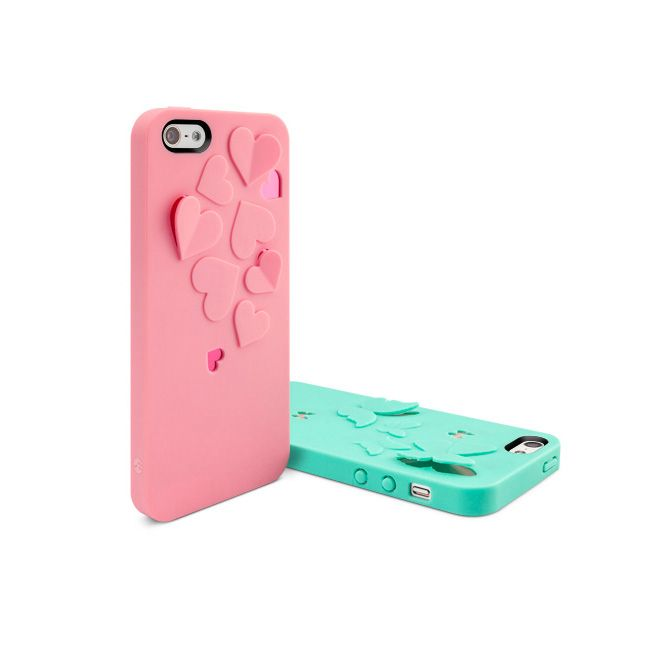 SwitchEasy Kirigami Hot Love за iPhone 5 -  розов - 3