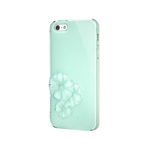 SwitchEasy Dahlia Sparkling Mint за iPhone 5 - 1