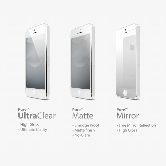 SwitchEasy Pure UltraClear за iPhone 5 - 5