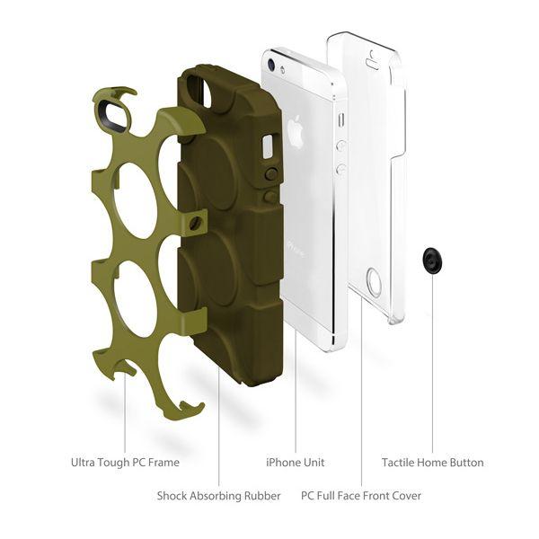 SwitchEasy FreeRunner за iPhone 5 -  син - 6