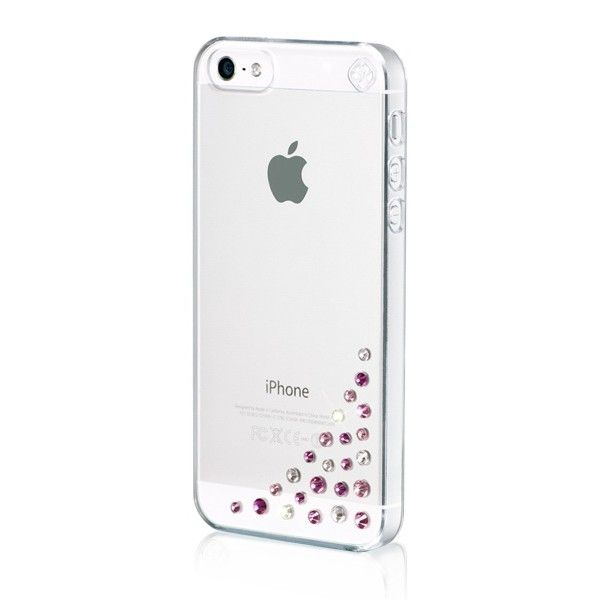 Swarovski Diffusion Pink Mix за iPhone 5 - 3