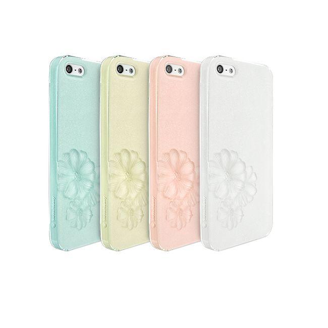 SwitchEasy Dahlia Sparkling White за iPhone 5 - 6