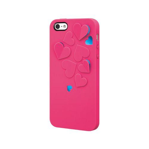 SwitchEasy Kirigami Hot Love за iPhone 5 -  розов - 1