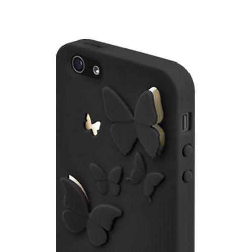SwitchEasy Kirigami Night Wings за iPhone 5 -  черен - 4