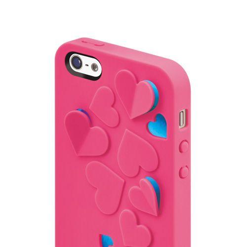 SwitchEasy Kirigami Hot Love за iPhone 5 -  розов - 6