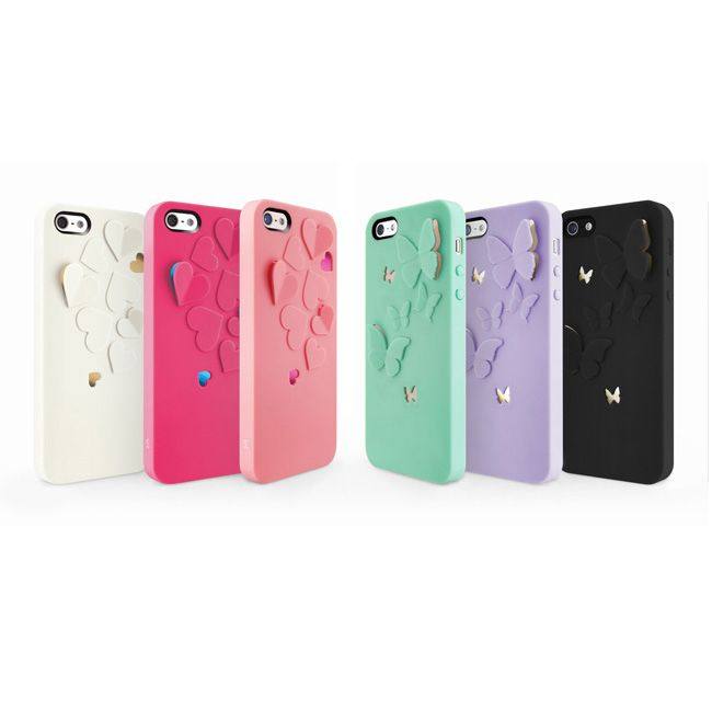 SwitchEasy Kirigami Sweet Love за iPhone 5 -  светлорозов - 6