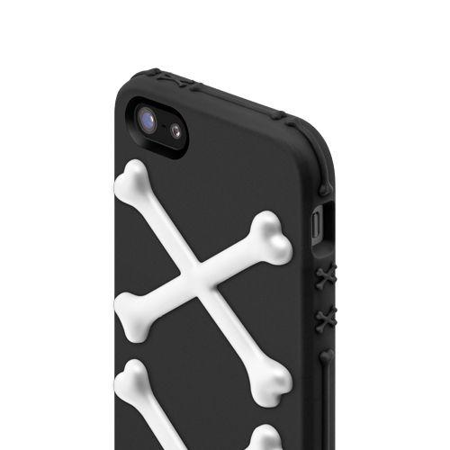 SwitchEasy Bones Pirate Black за iPhone 5 - 4